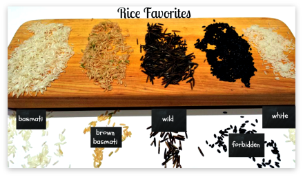 Rice affair-varieties