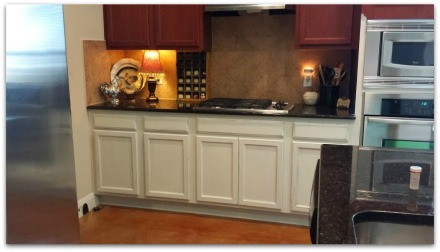cabinet facelift complete-counters