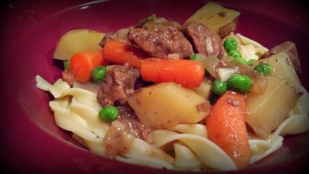 SUPER easy skillet stew-stovetop