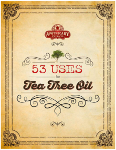 tea tree oil & it's many uses-uses