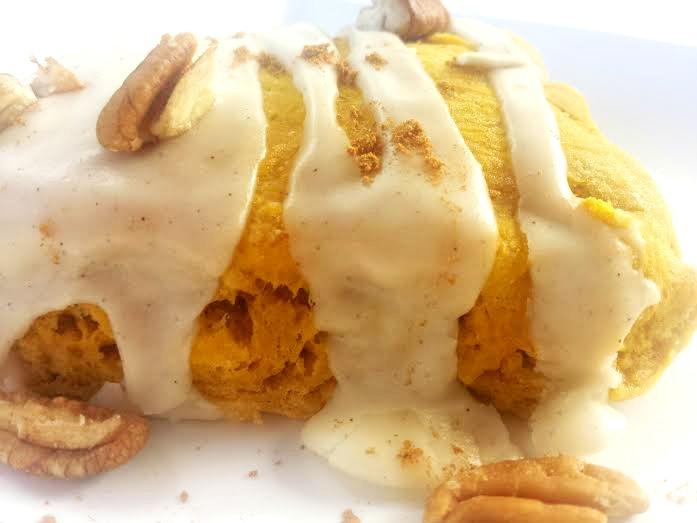 Pumpkin Cardamom Scones-pecans